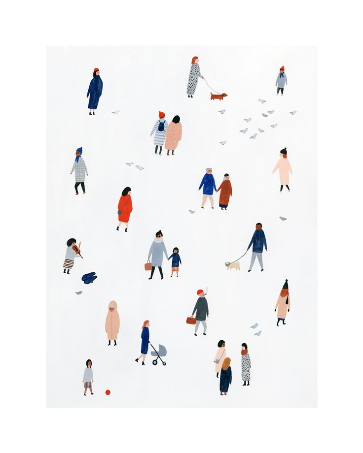 Tiny People Print 8″x10″ or 11″x14″