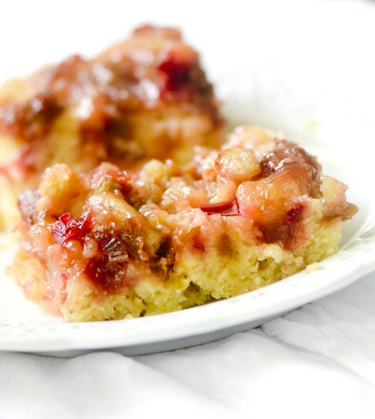 Rhubarb Cake Using Cake Mix