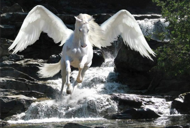 Pegasus is one of the best known mythological creatures in Greek mythology