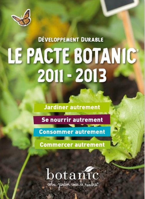 Le Pacte botanic® 2011-2013 - http://www.botanic.com/nos-engagements/le-pacte-botanic-2011-2013