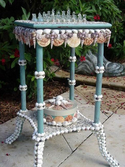 40 Sea Shell Art and Crafts Adding Charming Accents to Interior Decorating-gorgeous!