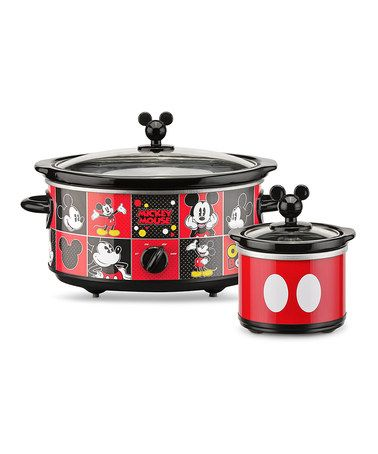 Another great find on #zulily! Mickey Mouse Slow Cooker & Dipper #zulilyfinds