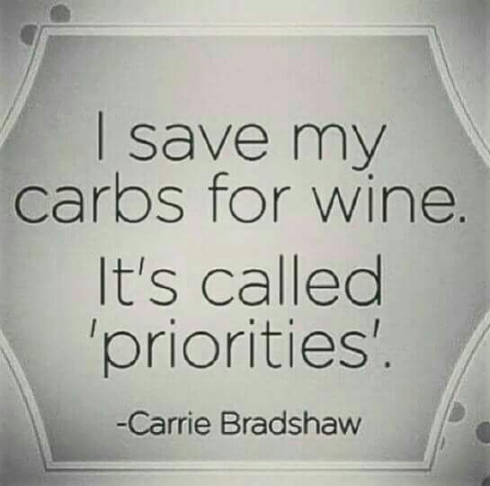 Carrie Bradshaw is one of the smart ones...