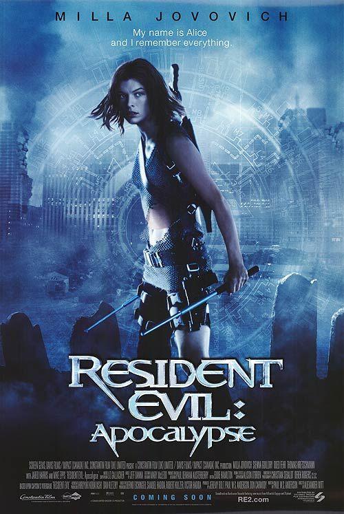 Resident Evil Movie Poster | Resident Evil: Apocalypse movie posters at movie poster warehouse ...