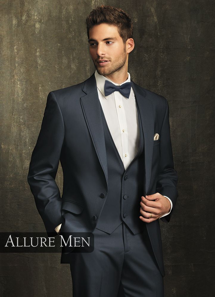 4.) Slate Blue 'Bartlett' Tuxedo by Allure Men