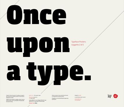 Once upon a time, once upon a type :)