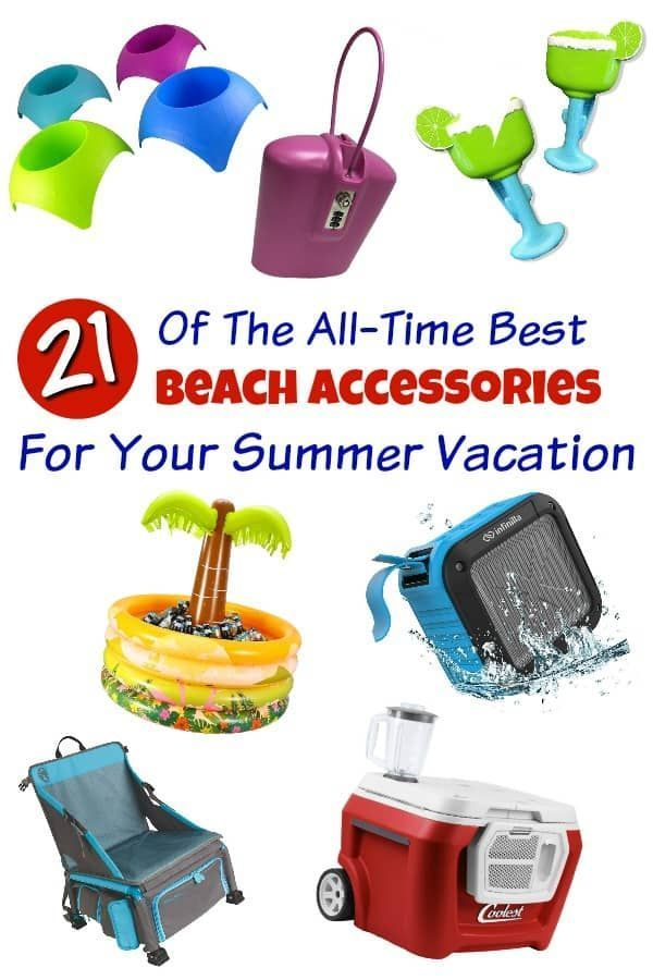 Beach Accessories Planning A Vacation You Ll Want The Coolest Gear From Carts That Carry Everything To Coolers With Built In Blenders
