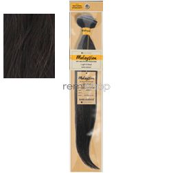 """Wed Aug 9, 2017 - #2: Bare & Natural Malaysian Natural Straight 22"""" - Color Natural - Unprocessed Weaving"""