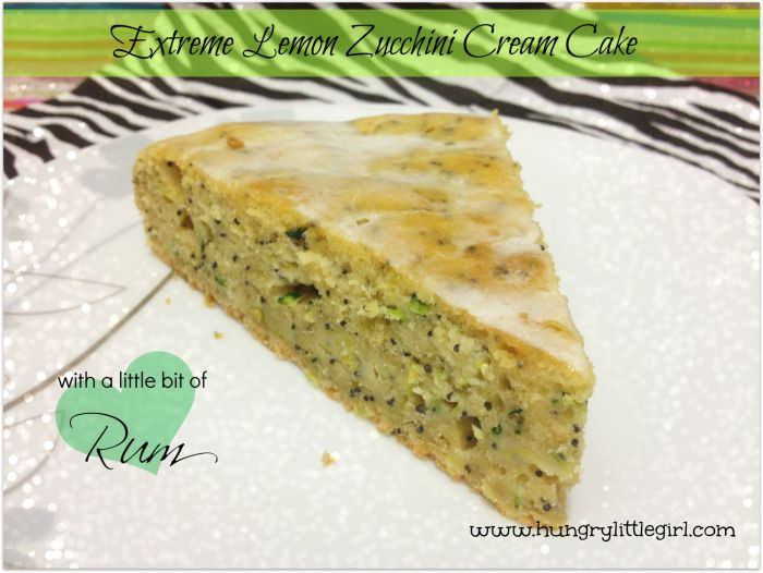 Extreme Lemon Zucchini Cake - packed with zucchini and lemon zest - Probably one of the most refreshing cakes I have ever had!