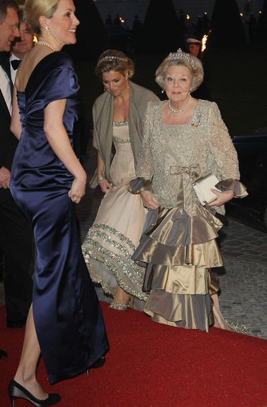 Crown Princess Maxima and Queen Beatrixt of Holland