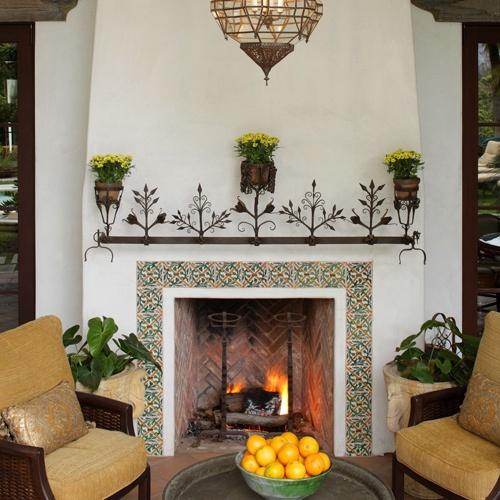 Nice Fireplaces: Nice Tile Around Fireplace