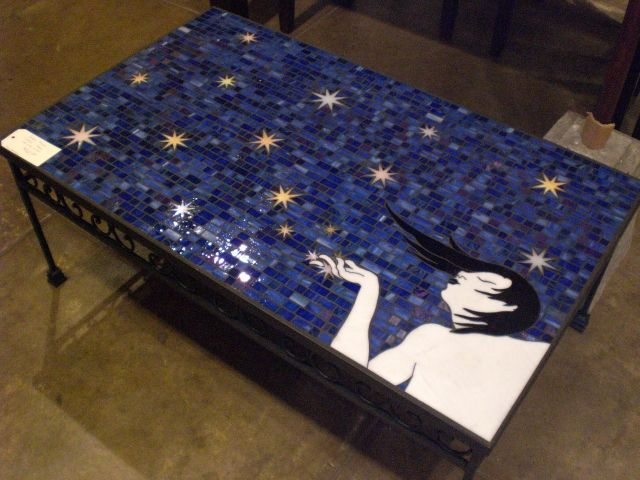 Mosaic Coffee Tables, Plasma Stands, Side Tables, Consoles, Desks