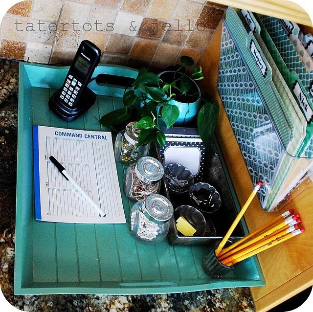 17 Best Ideas About Kitchen Desk Organization On Pinterest