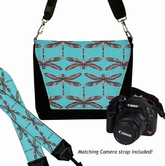 SET Dslr Camera Bag and Dslr Camera Strap Camera Bag Slr and
