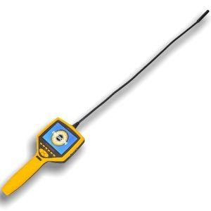 http://www.termometer.se/Handinstrument/Inspektionskamera/Monitor-Endoskop-med-upp-till-50x-forstoring.html  Monitor-Endoskop med upp till 50x förstoring  Visst finns det gånger man vill använda mikroskop men inte kommer åt objektet för att det sitter trångt eller delvis blockerat?    Monitor-Endoskop med optisk förstoring av objekt på upp till 50x. Kan med sin svanhalssond förböjas för enkel åtkomst i svårtillgängliga utrymmen. Med sin speciella egenskap att förstora små objekt kan...