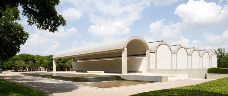 Louis Kahn. Kimbell Art Museum. Fort Worth. 1966-72