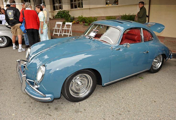1958 Porsche 356A (Type 2, T-2, 1500GS/Carrera)   Conceptcarz.com