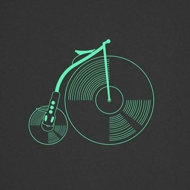 Vinyl record art... Nikolina Matoš saved to keys, clocks, bicycles Vinyl record art