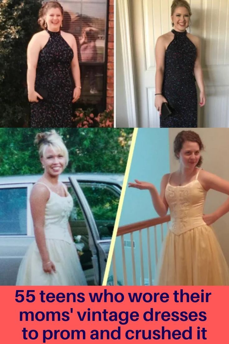 55 Teens Who Wore Their Moms Vintage Dresses To Prom And Crushed It In 2020 Vintage Dresses Prom Dresses Vintage Fashion Beauty [ 1102 x 735 Pixel ]
