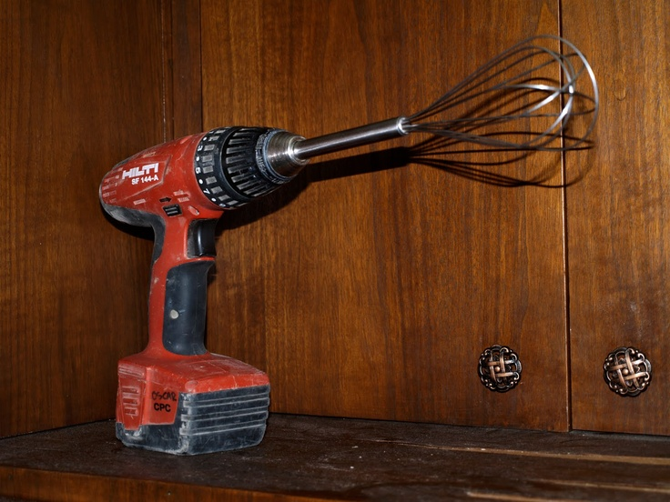 Hilti, see honey, I can whisk too