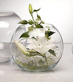 Le Vase Géant Boule en Verre Centre de Table Luxe. Décorez votre évènement  grâce à