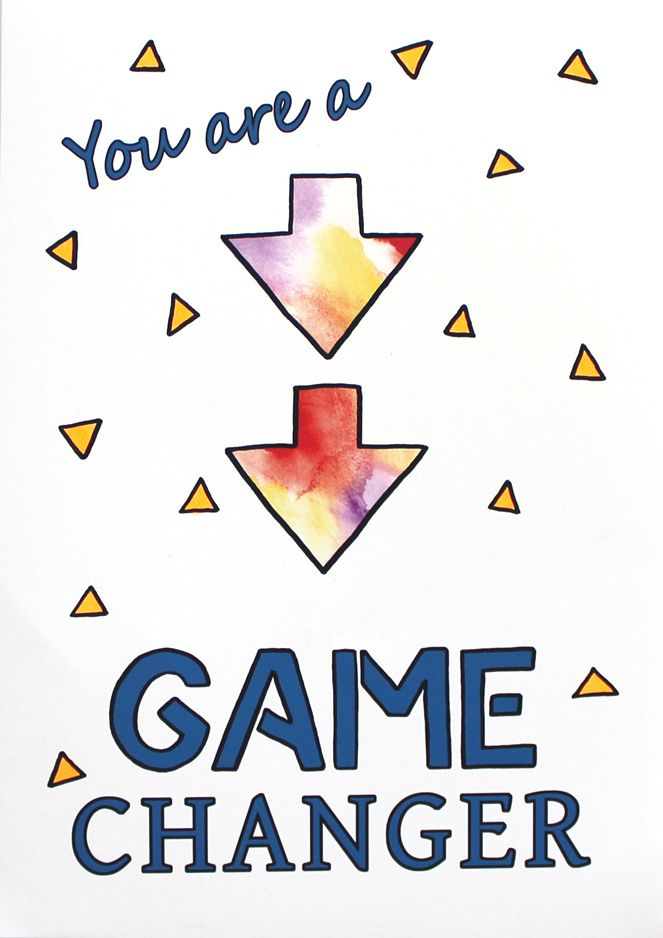 Being a Game Changer is all about believing in yourself & backing your ability! This is a positive inspirationart print- designed with boys in mind.