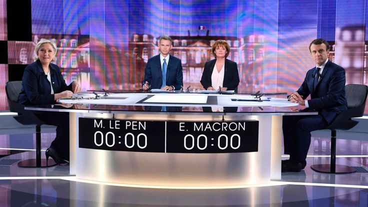 Le Pen and Macron clash in crucial French election debate - BBC News http://www.bbc.co.uk/news/world-europe-39791175