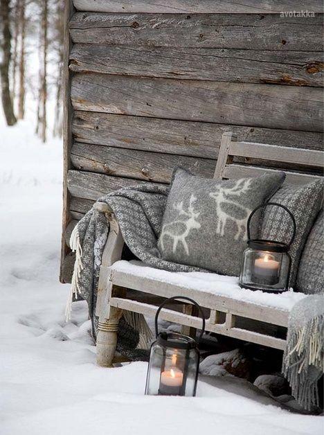 Frostige Weihnachtszeit ❅ Warm eingepackt mit einer Thermoskanne Glühwein lässt es sich draußen aushalten