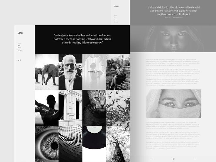 Portfolio Design Website Template