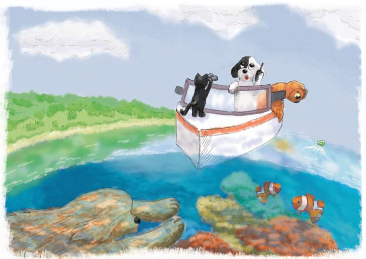 Tup Tup Tup stories for kids: CORAL REEF