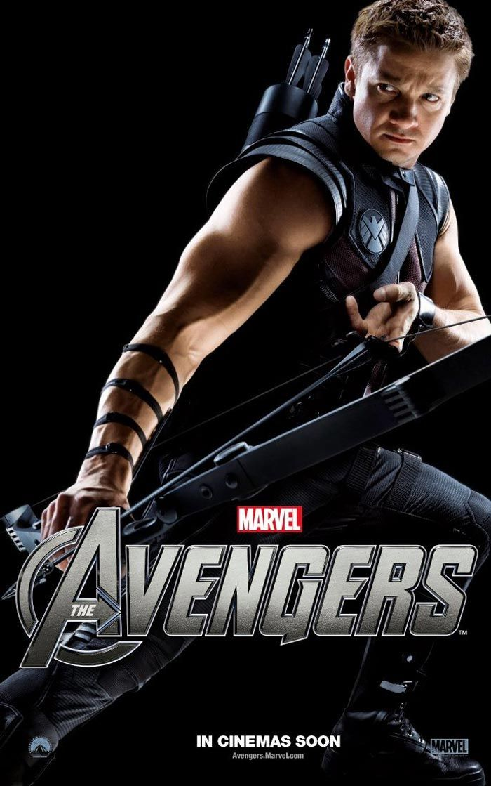 hawkeye :)   Yes please.Movie Posters, Avengers Movie, Jensen Ackles, Jeremy Renner, Dean Winchester, Super Heroes, Hot Guys, Popular Pin, The Avengers