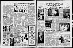 My vintage Dollhouse found here in the Lewiston Evening Journal - Google News Archive Search