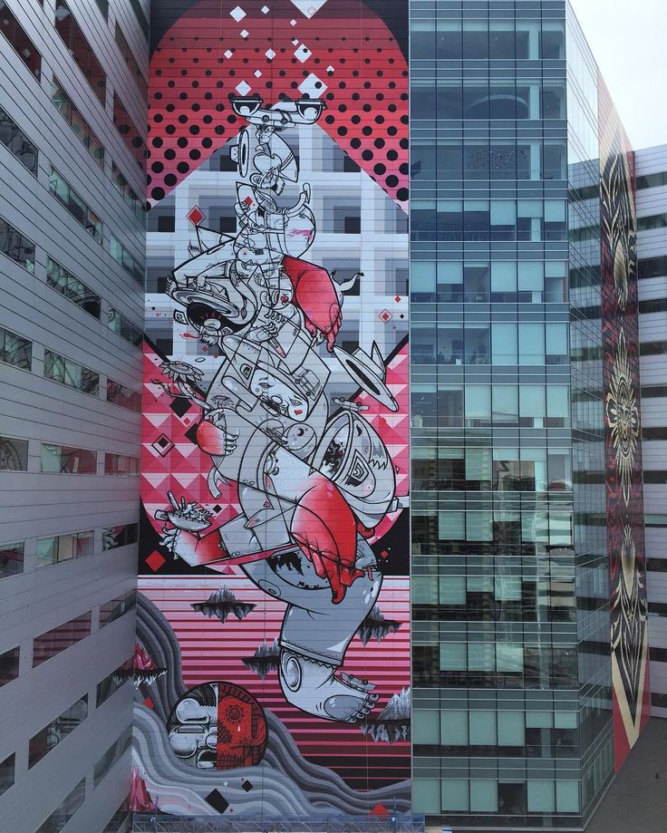 """""""Balancing Act"""" by How & Nosm in Detroit"""