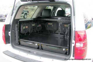 Discovery I Rear Storage Springtail Mpac Chevrolet Tahoe