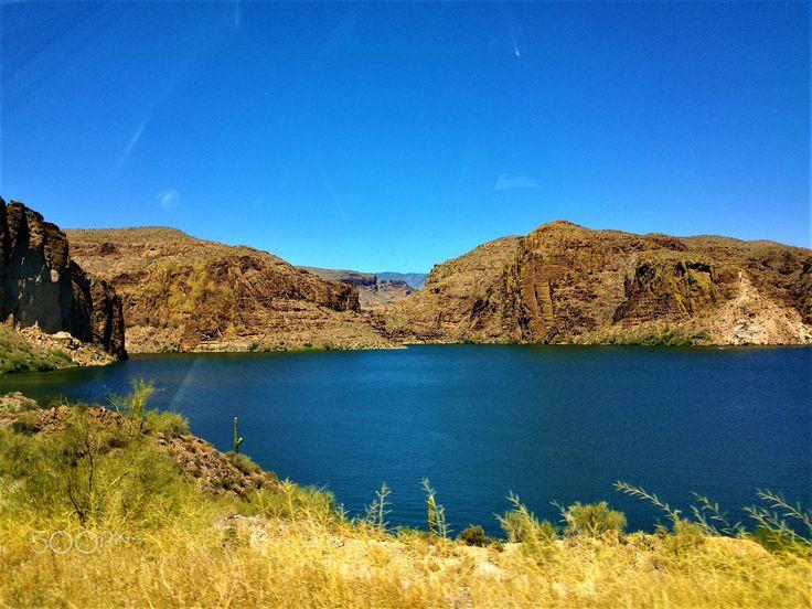 Desert Lake - null