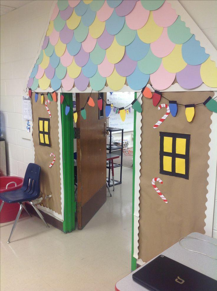 Diy Christmas Classroom Decorations : Christmas door decoration pinterest