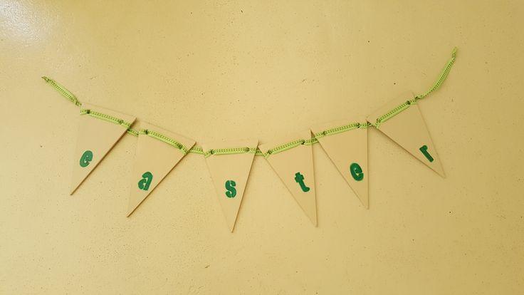 Easter Lanyards at R15 per letter