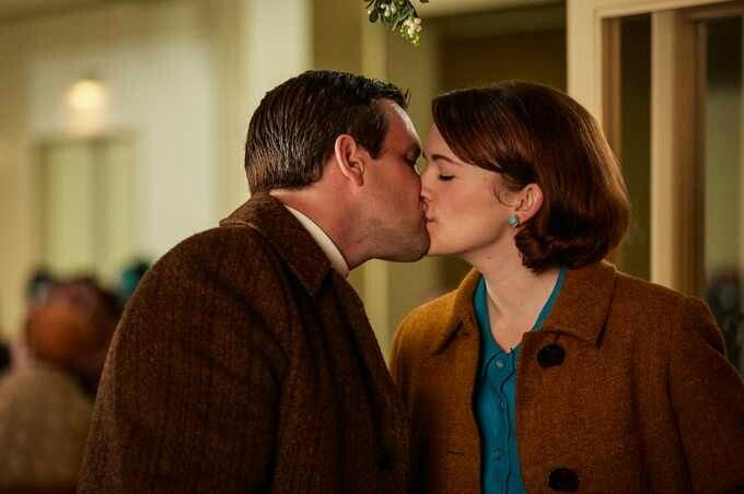 Call the Midwife Christmas Special 2017 - Newlyweds Nurse Barbara Gilbert (Charlotte Ritchie) and Tom Hereward (Jack Ashton) were faced with a life-changing decision during the Christmas Special.