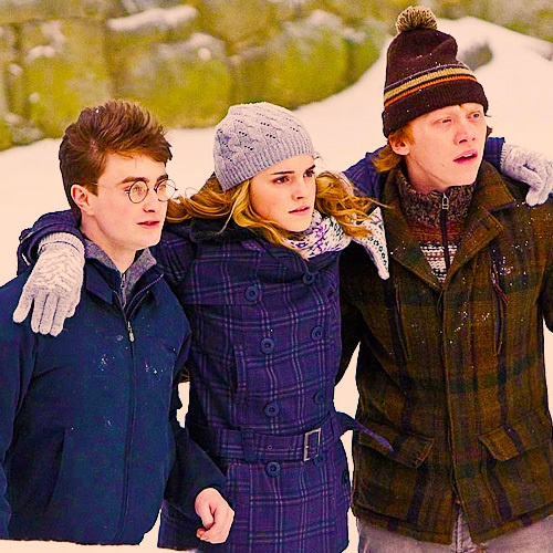 37 best the golden trio harry potter images on pinterest - Hermione granger and ron weasley kids ...