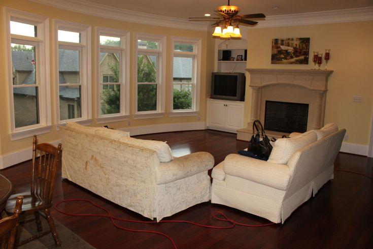 Set Up Furniture Large Living Room