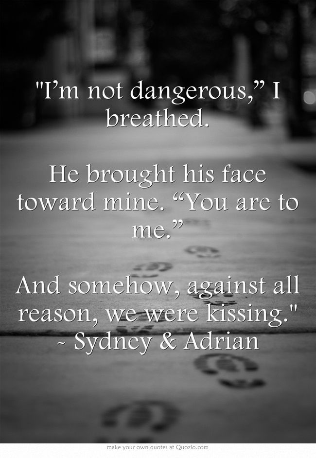 Bloodlines Quotes | Sydney & Adrian | aww <3