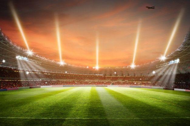 Soccer Stadium 3d Rendering Football Sta Premium Photo Freepik Photo Background Summer Line Light In 2020 Soccer Stadium Football Stadiums Stadium
