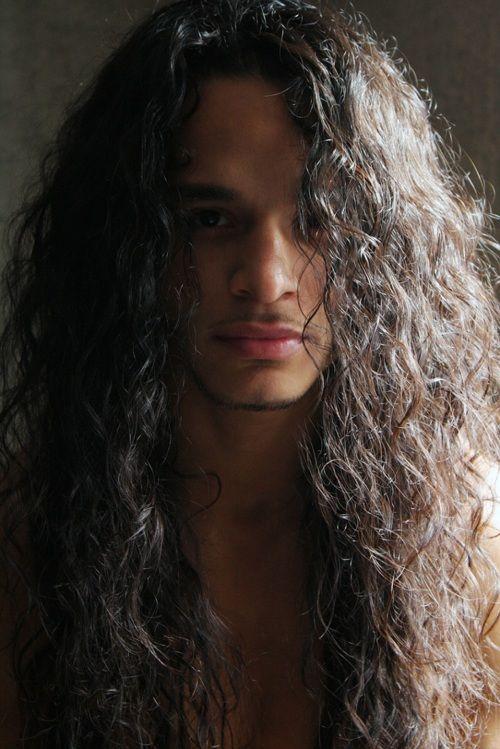 spanish guys with long hair