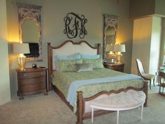 Best 25 Monogram Above Bed Ideas On Pinterest Bedroom Wall Decor Above Bed Master Bedroom