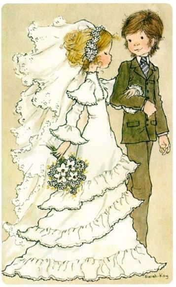 Lovely bride ang grom, Sarah Kay