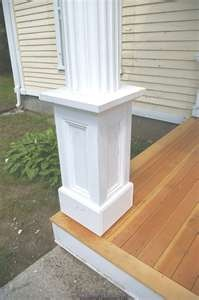 Porch Post Base Outdoor Style Pinterest Posts Image