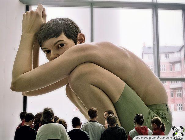 Ron Mueck    13 esculturas realistas de Ron Mueck   Criatives   Blog Design, Inspirações, Tutoriais, Web Design