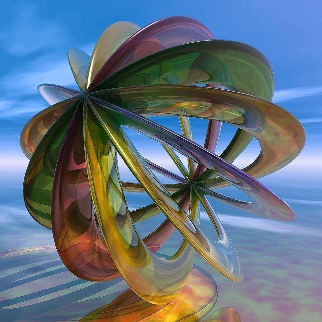 NEO-geometrikus absztrakt - 14 by BAGI LASZLO  jr.