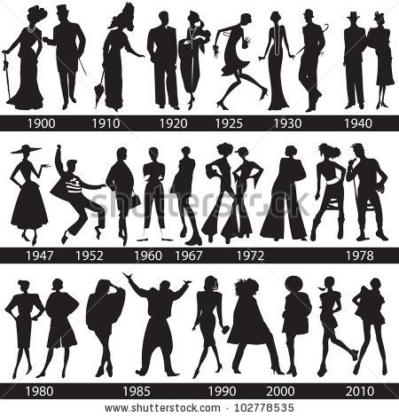 110 best images about Classic Silhouettes of eras on Pinterest ...