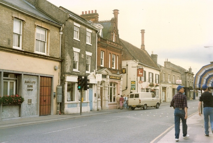 I have memories of this place as a child....Saxmundham England :)
